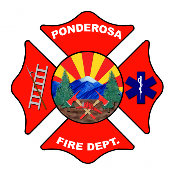 Ponderosa Fire Department logo