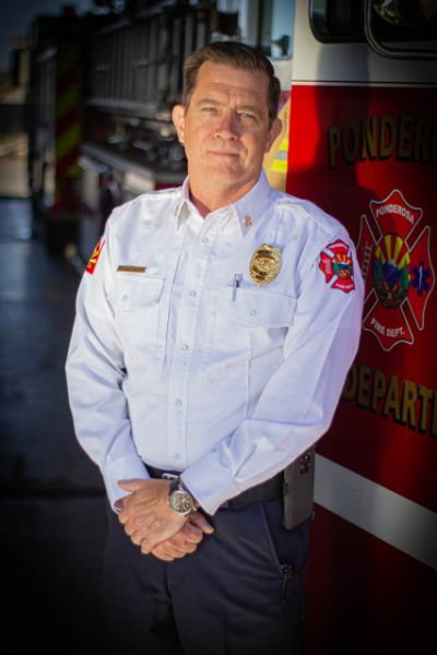 Ponderosa Fire Department Chief