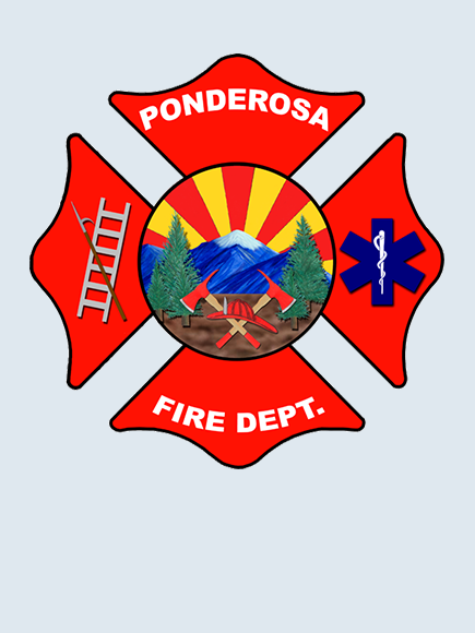 Ponderosa Fire Department logo